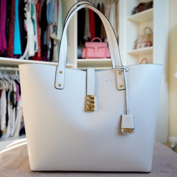 Michael Kors Karson Large Carryall Leather Tote NWT | Leather tote ...