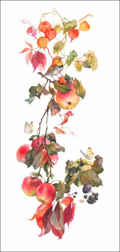 Fleur.    Плоды осени