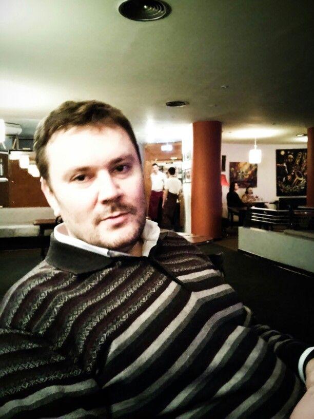 В клубе Алексея Козлова