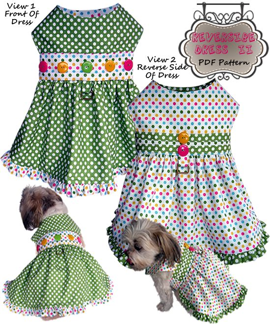 Skirt Harness For Small Dogs