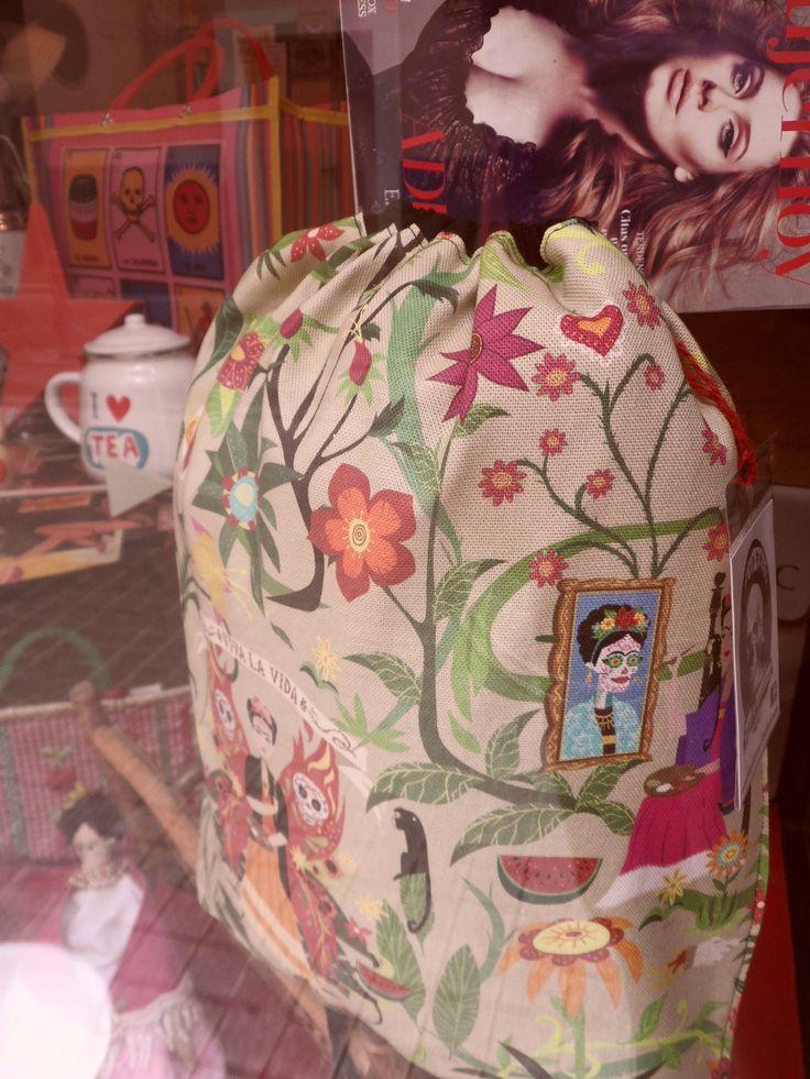 mochila Frida khalo