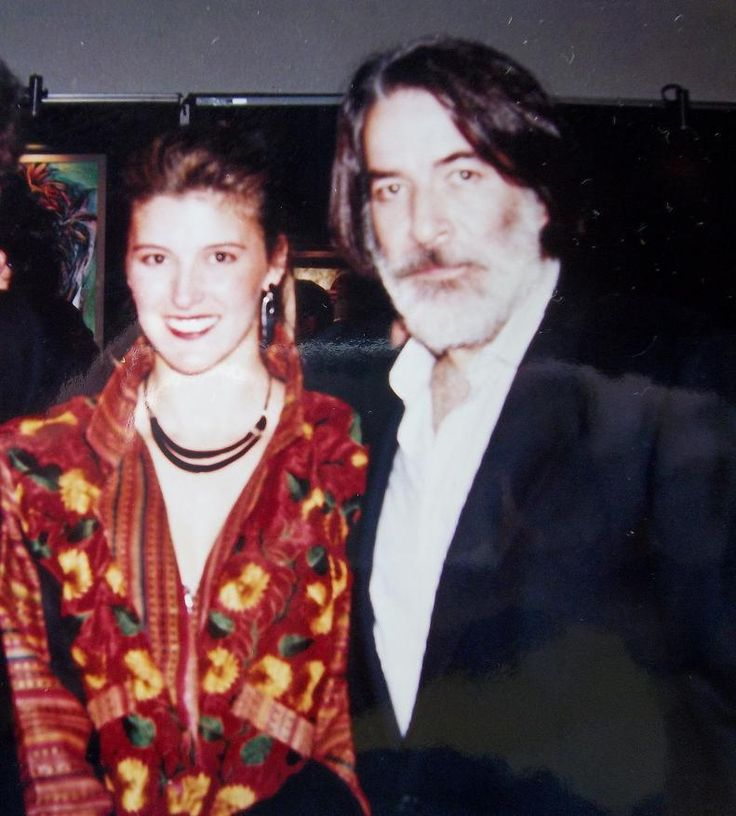Enrique Rocha, mexican actor & Patty Aguirre.