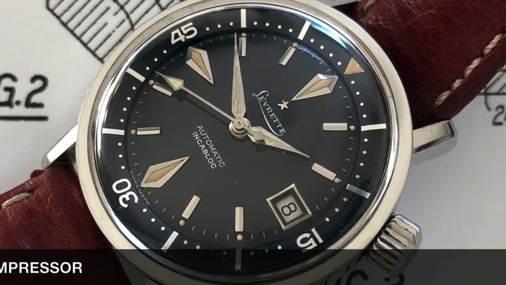 Vintage timepieces - Levrette Super-Compressor