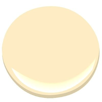 BM Cream Yellow: 2nd floor shared bathroom wall color