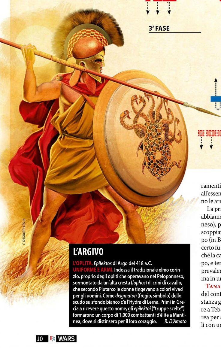 Argive Epilektos Hoplite   Rome !!   Pinterest   Greek ...
