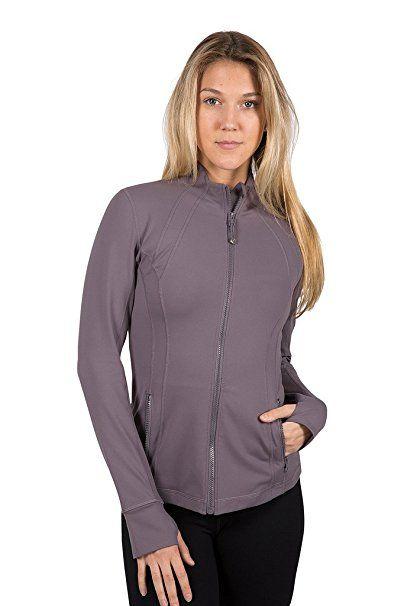 7daf748320 90 Degree By Reflex Womens Full Zip Jacket at Amazon