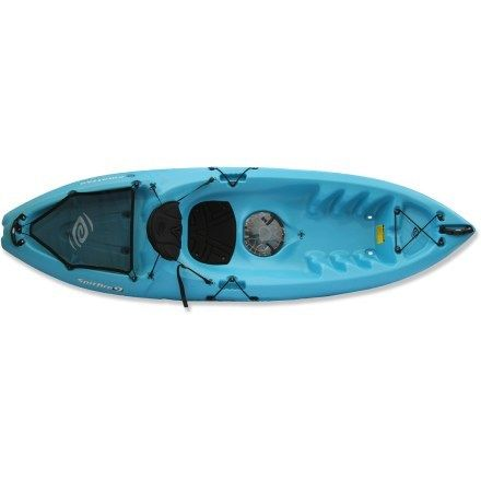 The perfect first kayak for the Spemkys Emotion Kayaks Spitfire 9 Sit-On-Top Kayak