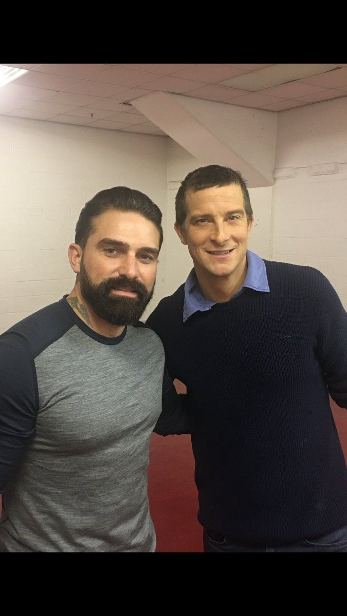 A real special forces man (Ant Middleton - SBS) and Bear ...