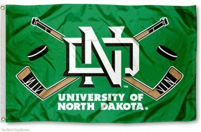 University of North Dakota Hockey Flag