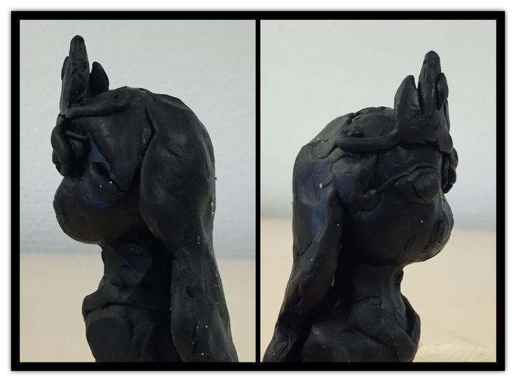 2. klasse arbejder med ostevoks  Skulptur Ostevoks