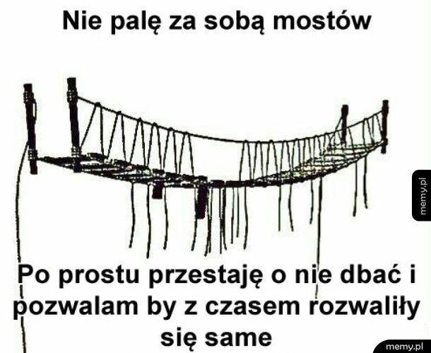 Palenie mostów