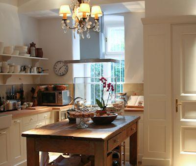 A real country house kitchen of Csokonai Luxury Villa at Lake Balaton