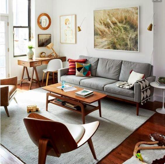 Les 92 meilleures images à propos de Salon sur Pinterest Visites - couleur chaude pour une chambre