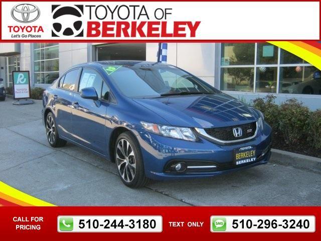 2013 Honda Civic Si Blue Call for Price 20705 miles 510-244-3180 Transmission: Automatic  #Honda #Civic #used #cars #ToyotaofBerkeley #Berkeley #CA #tapcars