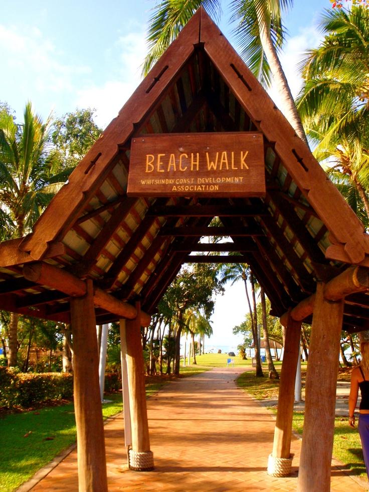 Airlie Beach, Beach walk