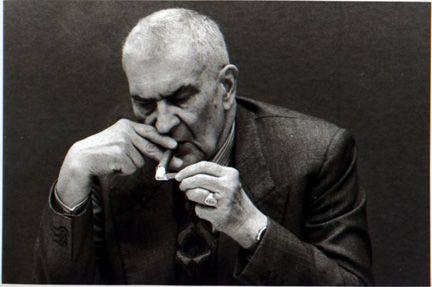 Federico Zeri - Gianni Berengo Gardin - Milano 1988