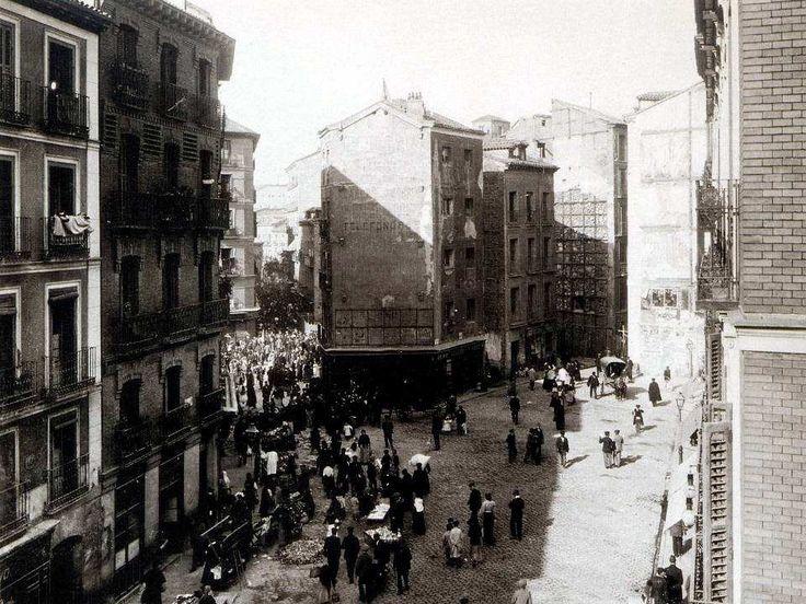 Plaza de Cascorro. 1912