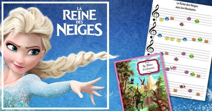 Avec Mélopie et les musinains la partition Libérée délivrée de la reine des neiges devient un jeu d'enfant à jouer au piano. Téléchargement gratuit.