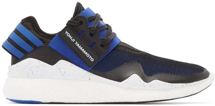 Y-3 - Blue & Black Retro Boost Sneakers