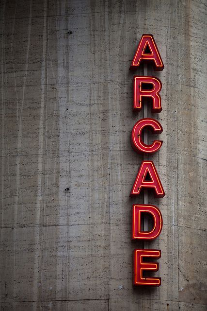 ARCADE by MightyBoyBrian, via Flickr