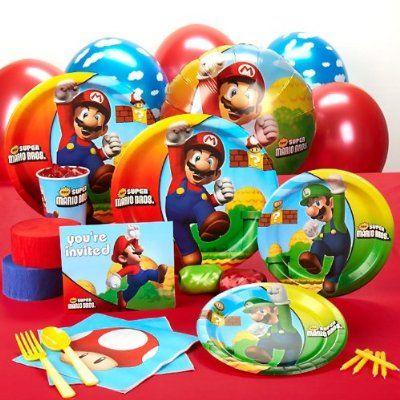 Super Mario Brothers Birthday Party Ideas | MomsMags Birthdays