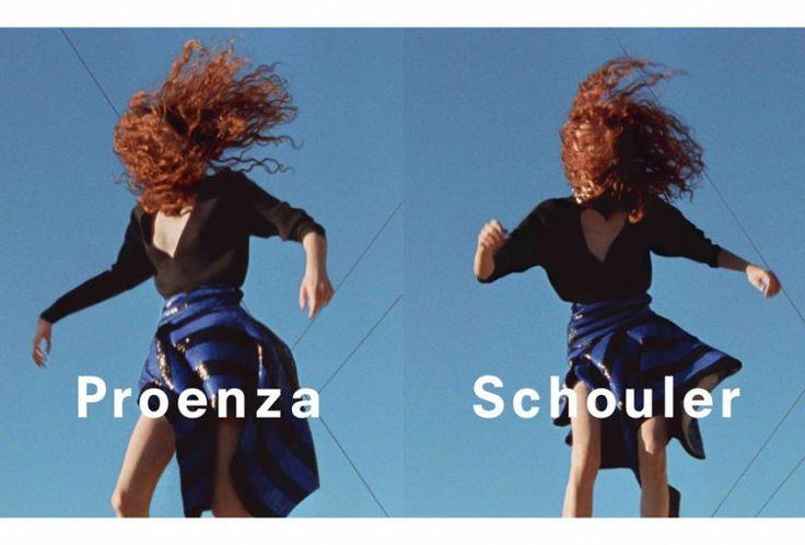 Proenza Schouler Spring Summer 2017 - http://cowboyzoom.com/fashion/proenza-schouler-spring-summer-2017/