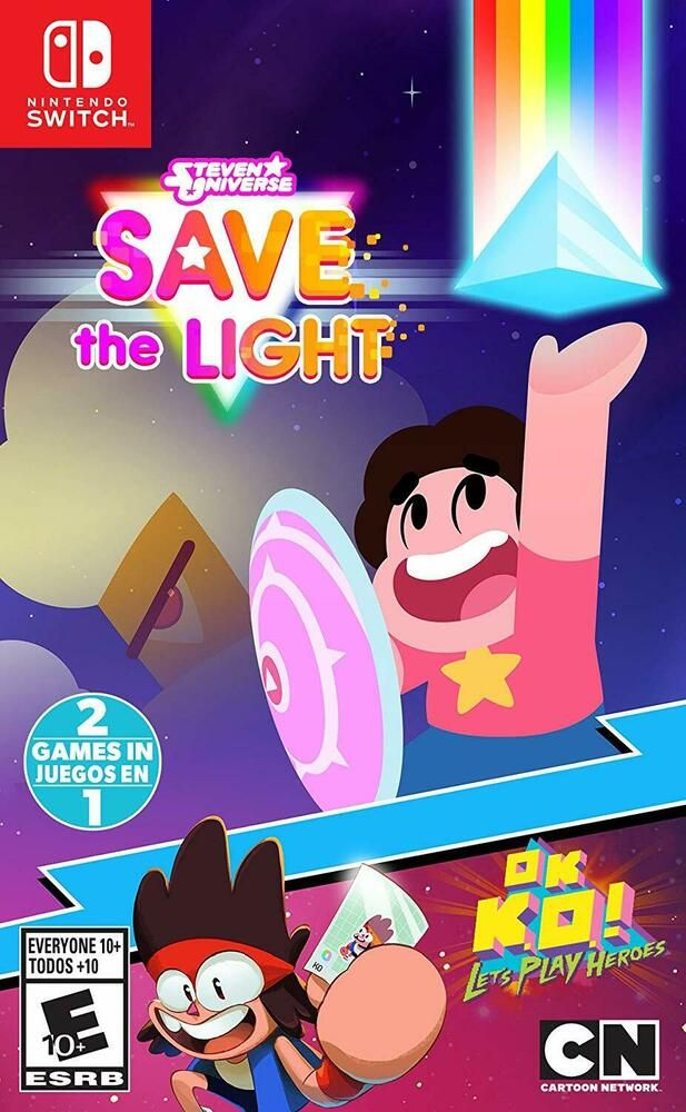 Steven Universe Double Pack Nintendo Switch Family Kids Cartoon Network Game Cartoonnetwork Steven Universe Games For Kids Xbox One