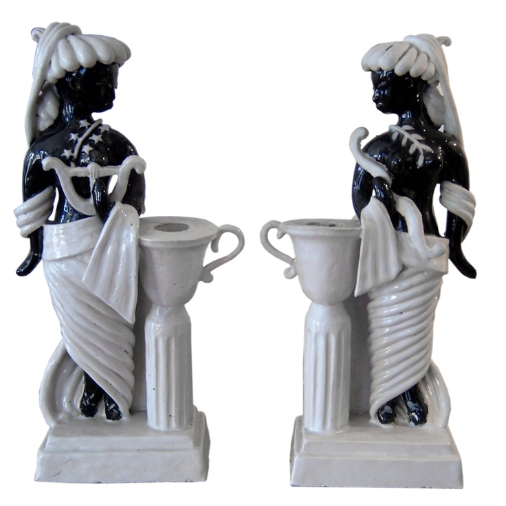 Pair of Candlestick by Colette Gueden
