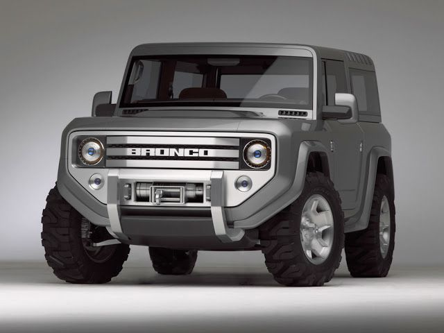 2020 Ford Bronco front