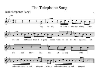 The Telephone Song