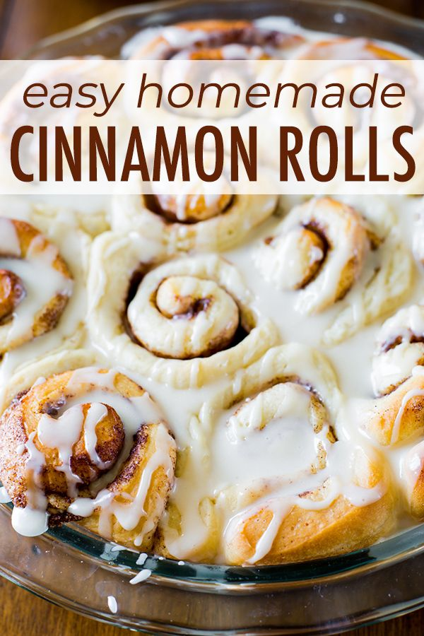 These Easy Cinnamon Rolls Are Perfect For Yeast Beginners Because