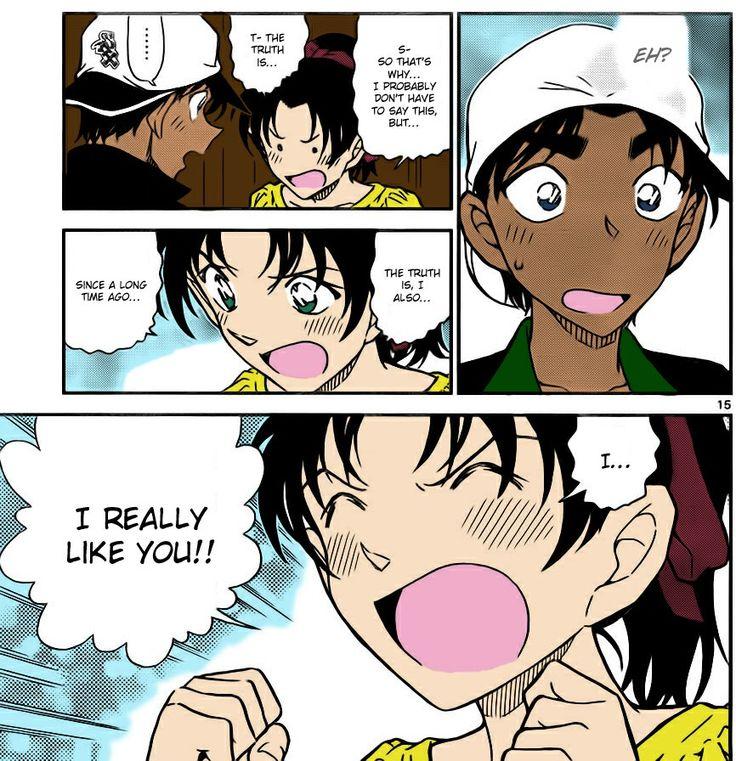 Kazuha's confession