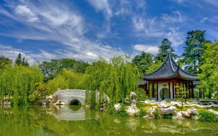 ber ideen zu chinesischer garten auf pinterest g rtnern japanische g rten und zen g rten. Black Bedroom Furniture Sets. Home Design Ideas