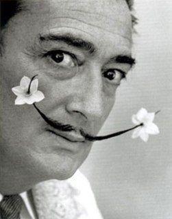 Salvador Dalí. Coolest artist ever.