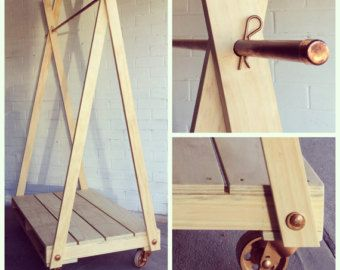 A-frame flatpack rack LARGE by LittleRedIndustries on Etsy