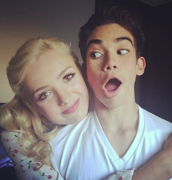 Peyton List / Cameron Boyce lets face it! its amazing