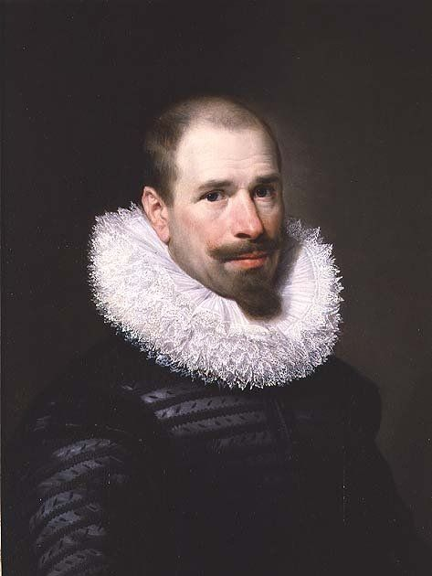 Portrait of a Man by Michiel Jansz. van Miereveld