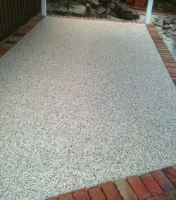 Concreate Driveway Exposed Aggregate