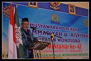 Kabar Persyarikatan: Musda Muhammadiyah Wonosobo