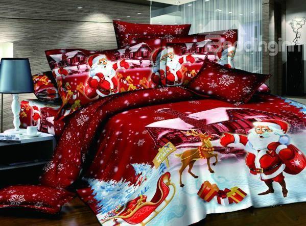 Christmas Bedroom Decorating Ideas 48 best christmas bedding images on pinterest | christmas ideas
