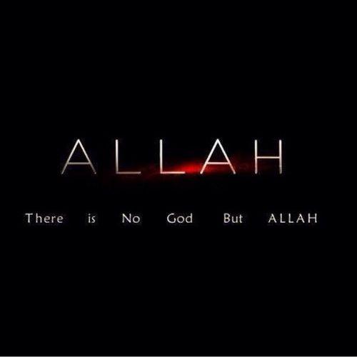 ☝ #OneGod ☝ #Lailahaillallah #Allah