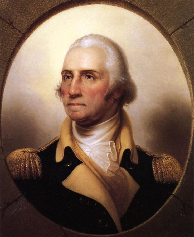 George Washington as you've never seen him.  Check out the link, this portrait is masterful.