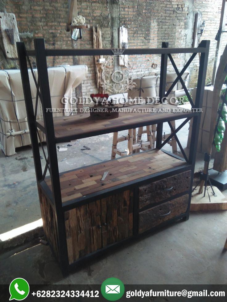 #mebeljepara yang satu ini sangat cocok dijadikan sebagai pilihan mebel pelengkap perabotan rumah anda. Material yang digunakan ialah kayu #jatirecycled yang mana sangat bekualitas dan kuat tentunya.