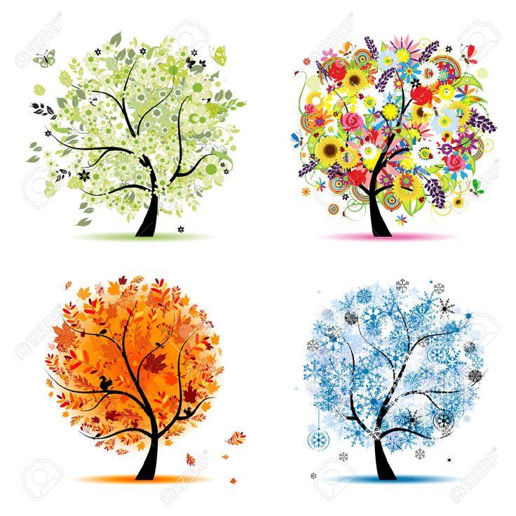 Résultats Google Recherche d'images correspondant à http://previews.123rf.com/images/kudryashka/kudryashka1010/kudryashka101000086/8099006-Quatre-saisons-printemps-t-automne-hiver-Art-arbre-magnifique-pour-votre-conception--Banque-d'images.jpg
