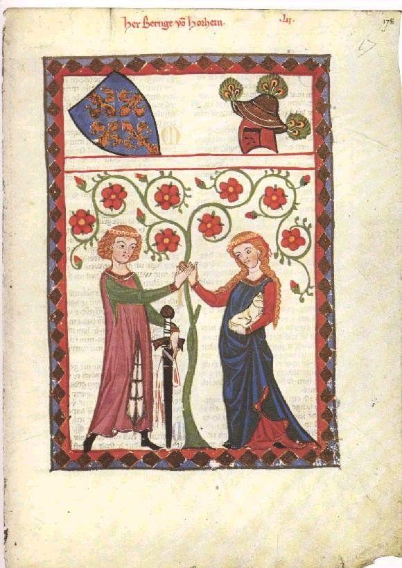 Manesse Codex, 14th Century German Manuscript