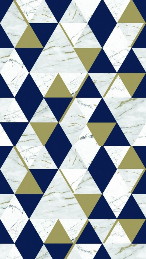 House Of Alice Onyx Marble Metallic Wallpaper Navy Blue Gold In 2019