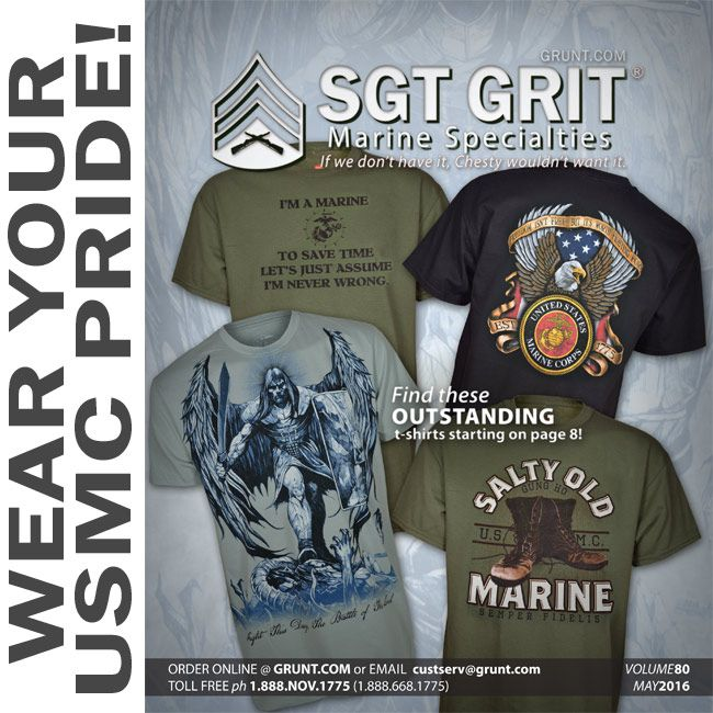 The Newest Sgt Grit Catalog, Vol. 80, Is On The Way To
