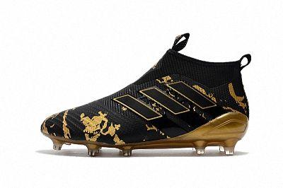 cf37f79b8693 2018 FIFA World Cup Adidas ACE 17+ Purecontrol FG Black Gold