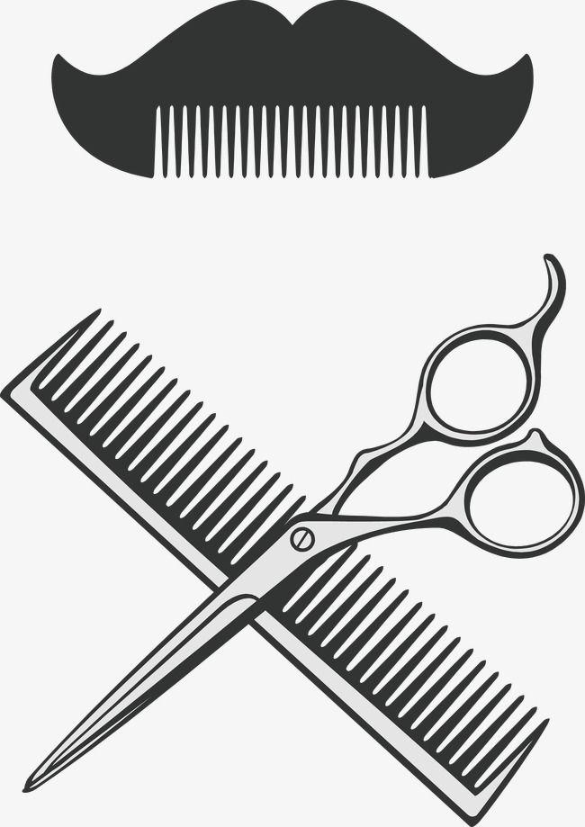 Pente E Tesoura Barbeiro Vetor Tesoura Clipart Decoracao Vetor Imagem Png E Vetor Para Download Gratuito Barber Tattoo Barber Logo Scissors