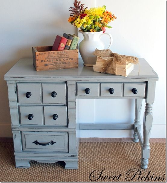 Love the gray furniture